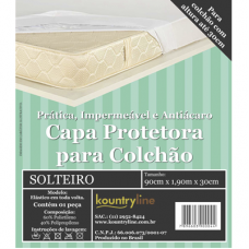 CAPA IMPERMEÁVEL DE COLCHÃO KOUNTRYLINE POLY C/ SLIP